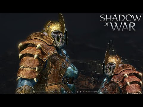 SHADOW OF WAR - UNIQUE BEAST TAMER OVERLORD TRICKSTER DIFFICULTY NEMESIS IN DESERT |
