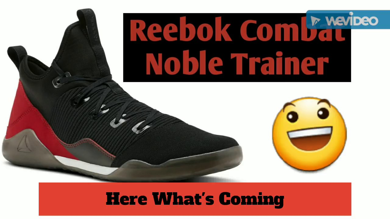 Reebok Mens Combat Noble Trainers Sports Training Gym Shoes Sneakers