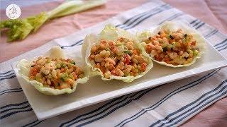 【立冬】芹菜蝦鬆|C2食光|節氣料理食譜|4K
