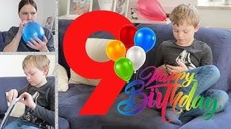 Keith wird 9 • Geburtstag mit der Familie • Vlog • Sabrina Andexer