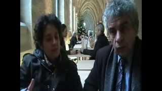 Jacques  Halbronn  et Dominique  Orés  Taar,  aux bernardins,  Paris thumbnail