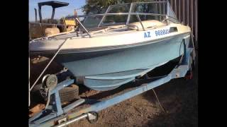 For Sale 1979 Mark Twain Cuddy Cabin Day Cruiser In Tuscon  Az 85718