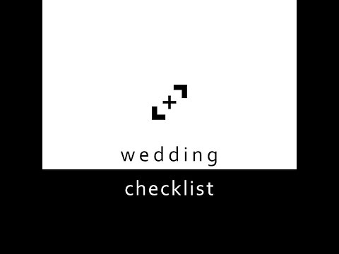 Wedding Photography Checklist - Light and Lens Photography
