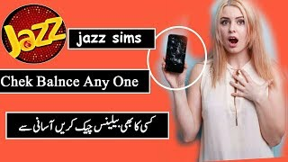 How to Check any Jazz Mobilink Sim Balance