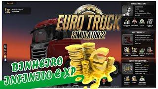 como ganhar dinheiro e experiencia facil no Euro truck simulator 2 (2017)