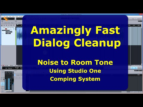 Clean Dialog Faster, Less Effort w/ Studio One