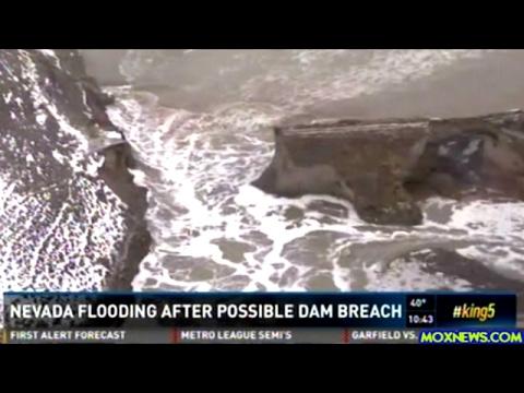 Flash Flood Warnings After Nevada Dam Breaks