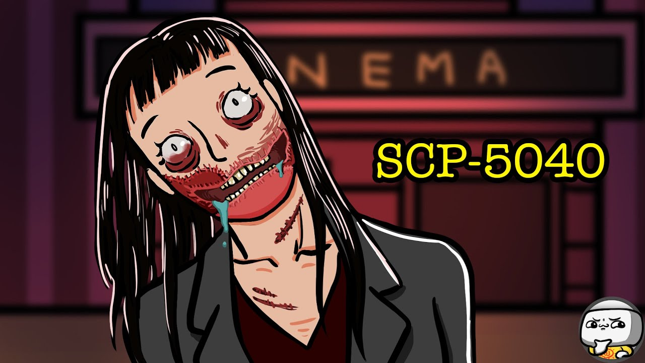 """Slit-Mouthed Woman SCP-5040 """"Tears of Blood"""" (SCP Animation)"""