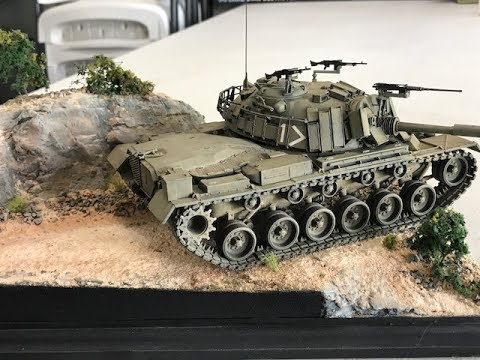 How to build a realistic diorama for the Dragon Magach 3 or any tank