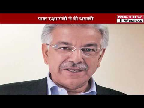 Pakistani defence minister Khawaza Asif warn india for nuclear
