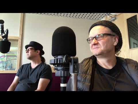 """RADIO BLOOPER"" during Manx Radio Interview on the Isle of Man - Joe Filisko & Eric Noden"