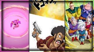 NEW BUU SAGA CARDS SUPER ATTACKS! | Dragon Ball Z Dokkan Battle Super Attacks