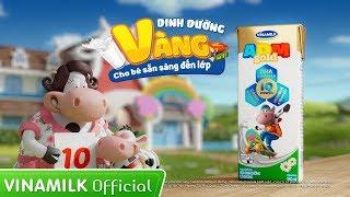 Quảng cáo sữa Vinamilk ADM Gold mới - Dinh dưỡng vàng cho bé sẵn sàng đến lớp