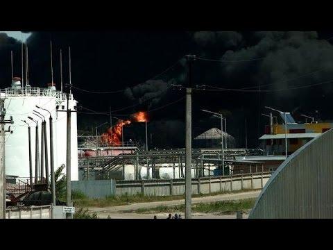 Ukraine : 3e jour d'incendie dans un dépôt près de Kiev