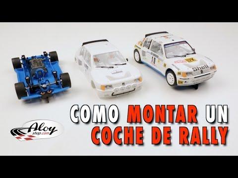 Como Montar Un Coche De Rally   SLOT   TUTORIAL   Español   SLOT CARS SCHOOL