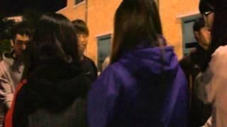 강원FC를 위한 나르샤의 촛불응원