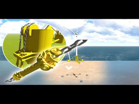 SBM Offshore Floating Wind Turbine