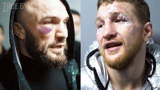 Травма Минеева и возмущение Исмаилова / Владимир и Магомед после боя