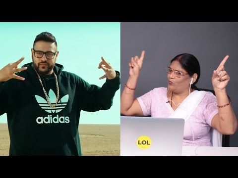Indian Aunties Watch Badshah Music Videos With Badshah