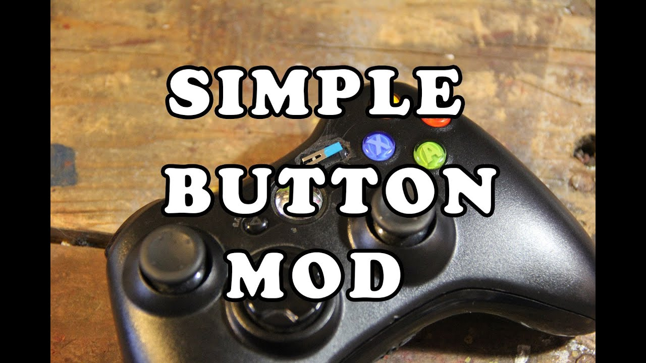 Simple xbox 360 controller mod for the physically disabled youtube solutioingenieria Image collections