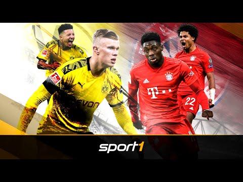 Haaland & Davies: So schocken Bayern und BVB Europa   SPORT1 - TRANSFERMARKT-SHOW
