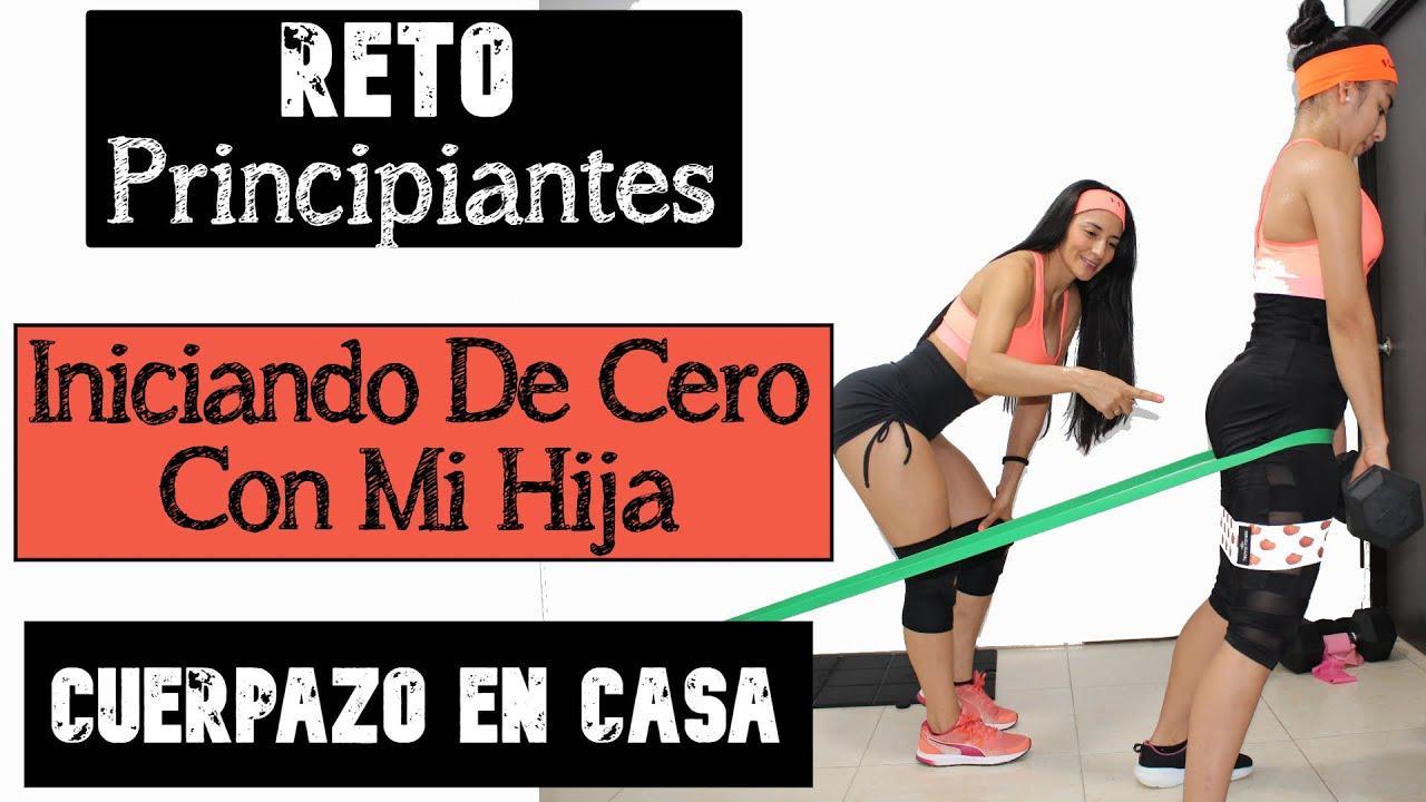 RETO #CUERPAZOencasa PRINCIPIANTES / Día Miércoles/ Rutina Sólo Glúteos.