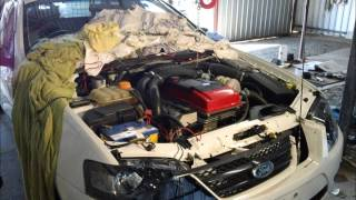 How To Install BA BF Ford Falcon / Territory AUX Cable - JordysStuff