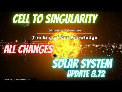 Cell to Singularity Solar System ✨🌌   Update 8.72