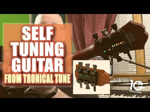 Installing a Tronical Tune self-tuning system on My Guitar