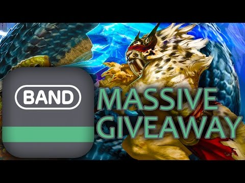 Vainglory Band App Giveaway - Free Jerseys!