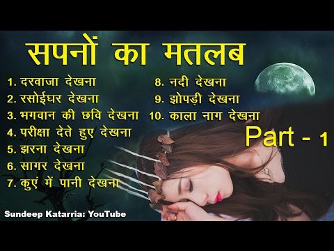 सपनों का मतलब और उनका फल Part I || Meaning of Dreams Hindi Part I