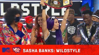 WWE's Sasha Banks Lays the SMACK DOWN on Nick Cannon 💪 | Wild 'N Out | #Wildstyle