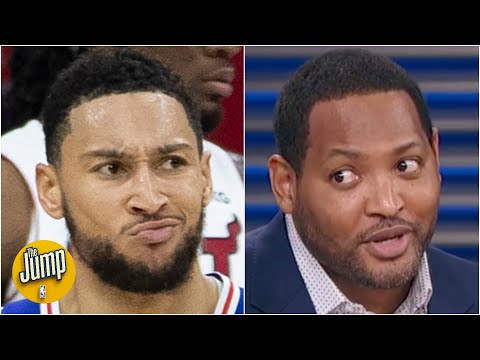 How should Ben Simmons feel after being in trade talks for James Harden?   The Jump
