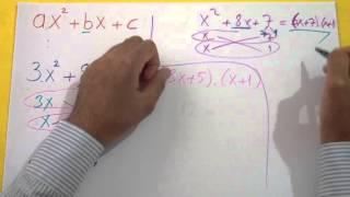 Çarpanlara Ayırma 4 Şenol Hoca Matematik