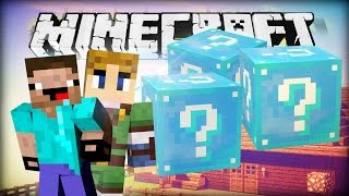 Minecraft LUCKY BLOCKS BATTLE - BLAU! BLAU! BLAU! [21]