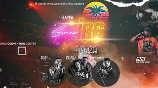 G.A.N.G. Convention 2019 - Summer Vibe Hip Hop Concert
