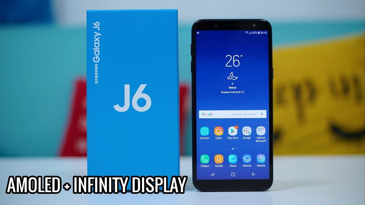 Unboxing Samsung Galaxy J6 2018 Indonesia Youtube