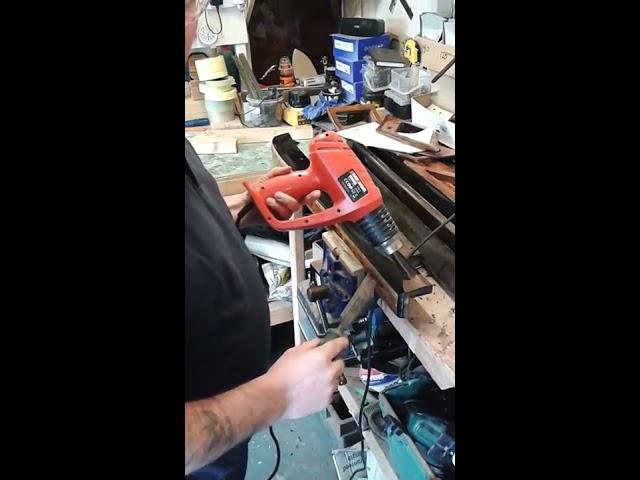 how to strip bentey/rolls royce door cappings. GDK veneering