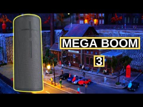 Bocina Bluetooth Mega Boom 3 de Ultimate Ears, Unboxing y Review, Que tan buena es?