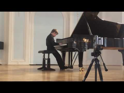 25.02.2017 Rodion Shakirov performance at CMS students concert, Moscow State Conservatory