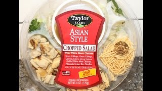 Taylor Farms Asian Style Chopped Salad Review