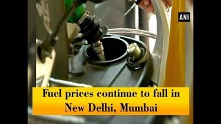Fuel prices continue to fall in New Delhi, Mumbai - #Business News