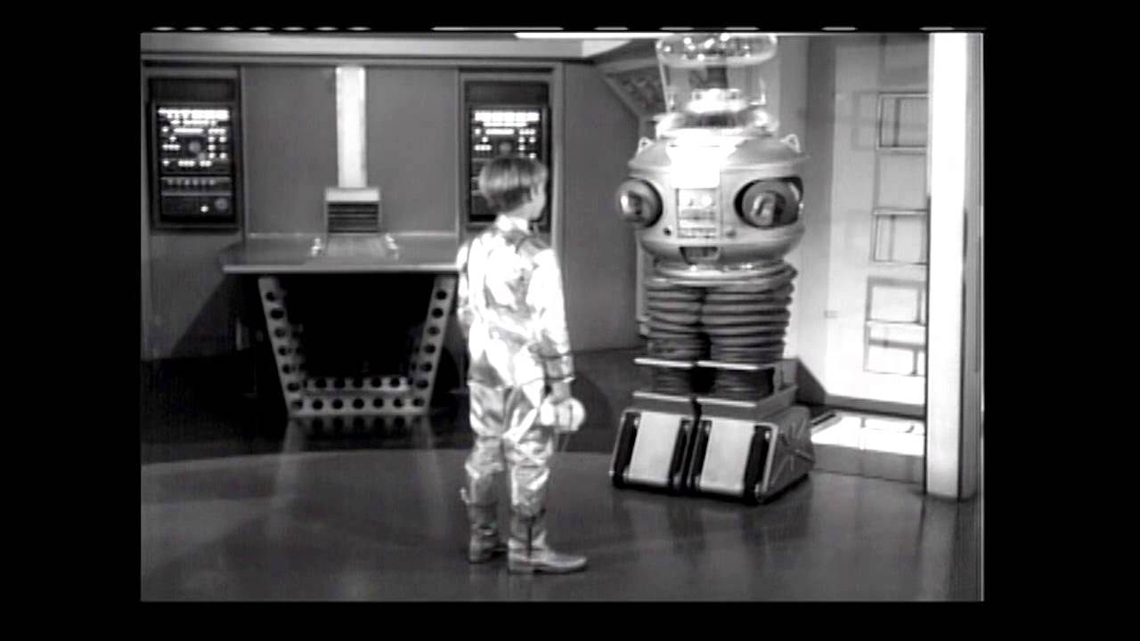 Download Lost in Space STS-117 B9 Robot Presentation Video
