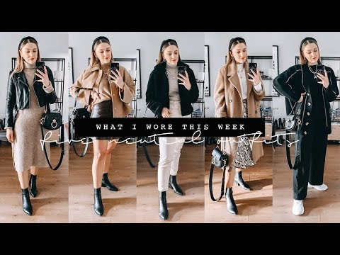 A WEEK IN NEUTRAL OUTFITS | WHAT I WORE THIS WEEK | I Covet Thee
