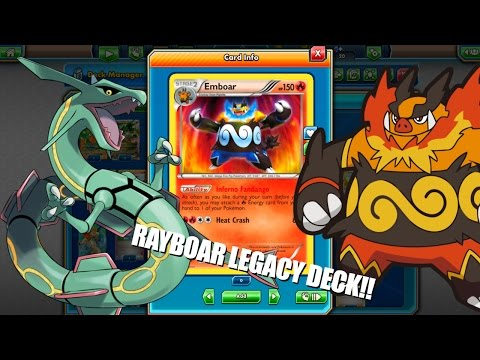 PTCGO Legacy RayBoar- Rayquaza Ex/Emboar Deck! Why does none run this? (Pokemon TCG Online)