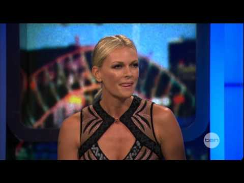 Sarah Murdoch interview on The Project - Everybody Dance Now (Australia) 2012