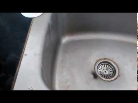 Kitchen Sink cleaning  routine in Tamil / How to clean kitchen sink easily in Tamil