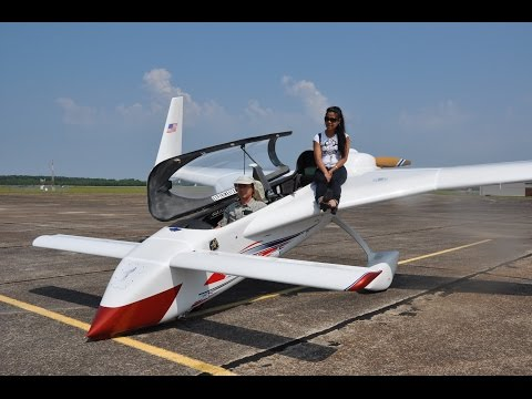 Burt Rutan Long-ez, Cross Country Flight, Jon Berger Long EZ