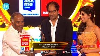 SIIMA 2014 Best Cinematographer Prasad Murella for Attarintiki Daredi