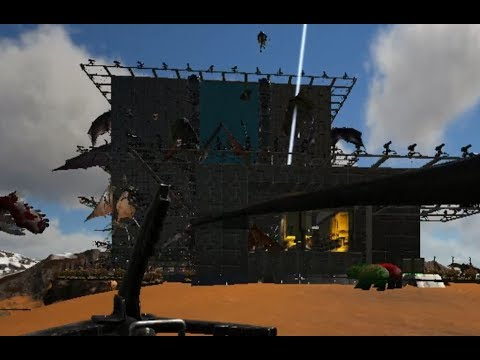 Ark Official Server 95 Wipe on CC army's ally, Inmates